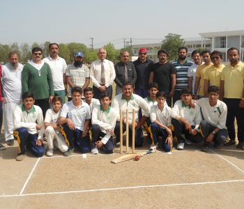 CRICKET MATCH BETWEEN STAFF AND STUDENT