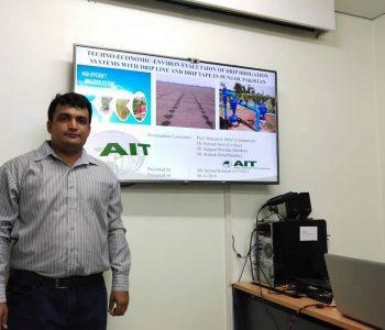 Eng. Sarmad Rasheed (Deputy Director Agri)